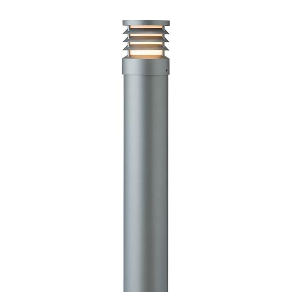 タカショー HFD-D51L スタイルポールライト 19型 ルーバー 100Vスレートシルバー(電球色)
