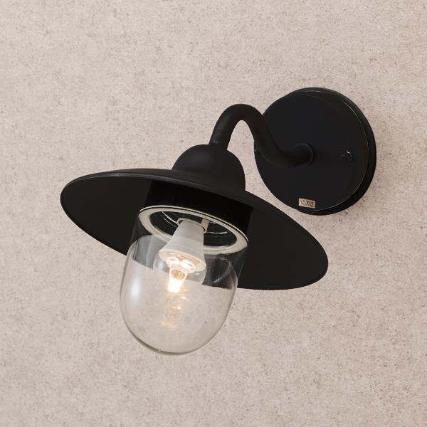 タカショー HBA-D13K エクスレッズウォールライト 7型 ブラック (電球色) W232×D312×H185