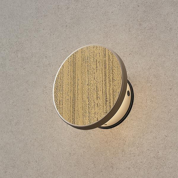 タカショー HBA-D17G エバーアート ウォールライト 1型 ゴマ竹 (電球色) W120×D67×H120