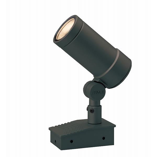 タカショー HBB-D25C ガーデンアップライト オプティL 中角チャコールグリーン (電球色) W68×D125×H178