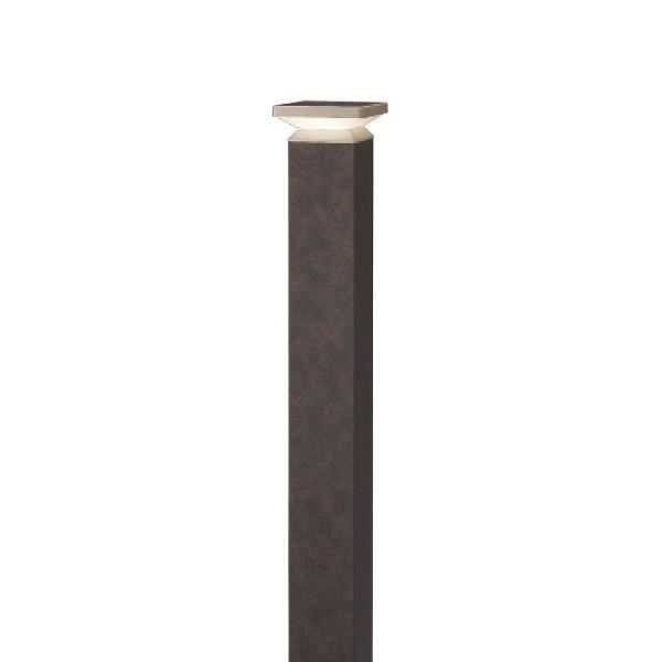 タカショー HBC-D55R エバーアート ポールライト 4型 ラスティコッパー (電球色) W105×D105×H840