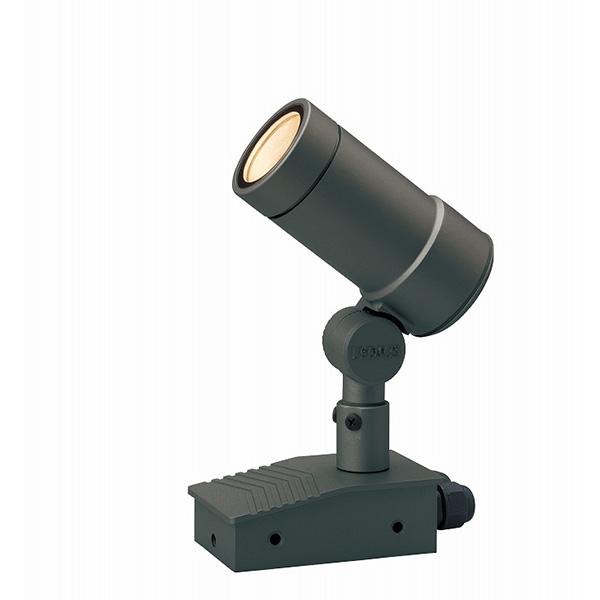 タカショー HFE-D51C ガーデンアップライト オプティM100V中角 チャコールグリーン (電球色) W65×D125×H170
