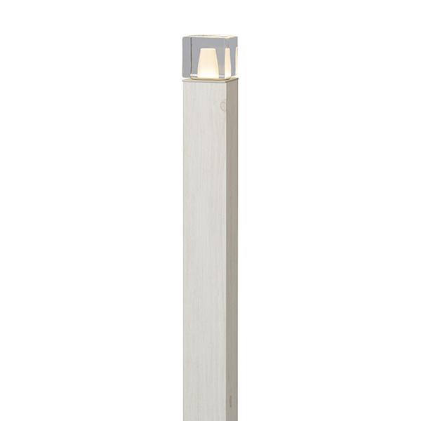 タカショー HBC-D58W 75103700 エバーアートポール プレス 6型 ホワイトパイン