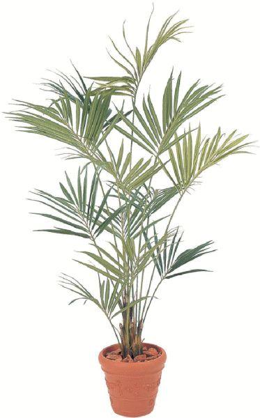 タカショー 【観葉植物・グリーンデコ洋風】 ニューケンチャヤシ 2.4m メンテが楽でリアルな人工植物 GD-102L