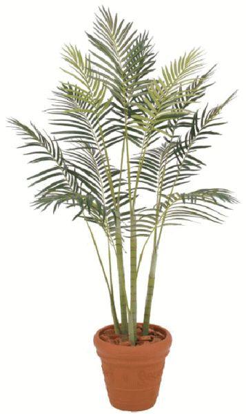 タカショー 【観葉植物・グリーンデコ洋風】 ヒメヤシ 2.1m メンテが楽でリアルな人工植物 GD-86M