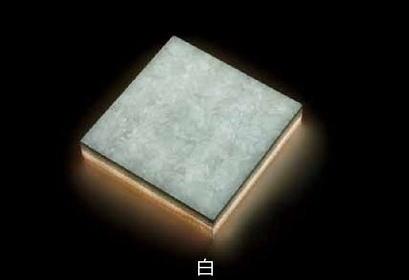 タカショー 人工大理石LEDタイル マーベライト(床面・壁面用) LEDで経済的 MBL-J01W MBL-J03D