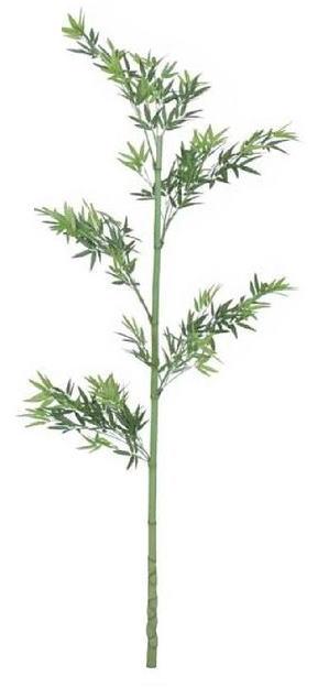 タカショー 観葉植物・グリーンデコ和風 青竹一本物 GD-25S 1.8m ※