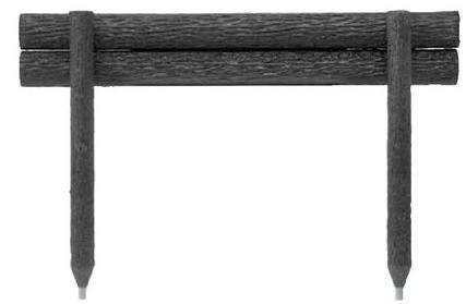 「メーカー直送品」「代引不可」 タカショー ワンダーウッドステップ2段 NAE-210 W1000×H700 φ100 ※