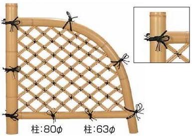 タカショー 合成竹フェンス 合成竹光悦寺垣 EM-01 3尺