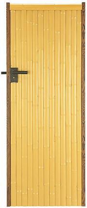 タカショー エバーセット部材 庭扉シリーズ アルエバーウォール 片面 AL-25 W700×H1800