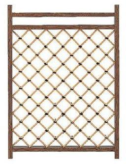 タカショー エバーセット部材 庭扉シリーズ アルミ枠枝折戸 AL-21 W755×H1050