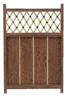 タカショー エバーセット部材 庭扉シリーズ アルミ枠庭木戸 AL-22 W700×H1050