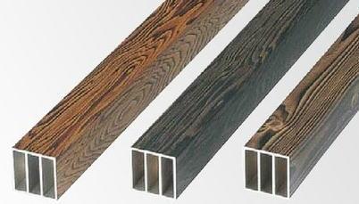 タカショー YHT-608 エバーセット部材 扉用部材 扉吊元用柱 焼60(3層)画像左※