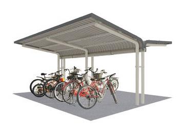 【特価】 2段ラック対応 埋込み仕様:家づくりと工具のお店 家ファン! SP13LBHU-K 自転車置場 SPシリーズ SP1LBH型-エクステリア・ガーデンファニチャー