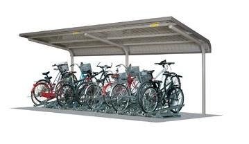 【★超目玉】 SPシリーズ 自転車置場 埋込み仕様:家づくりと工具のお店 家ファン! SP1WBA型 SP11WBAU-K-エクステリア・ガーデンファニチャー