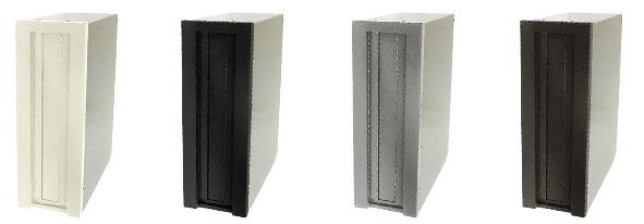 タマヤ TAMAYA 戸建用郵便ポスト TN54L/TN54R 埋込みタイプ ダイヤル錠取付け可能(別オーダー) 前入れ後出し