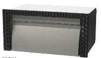 タマヤ TAMAYA 戸建用郵便ポスト TN61-1 埋込みタイプ ダイヤル錠取付け可能(別オーダー) 前入れ後出し