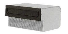 タマヤ TAMAYA 戸建用郵便ポスト T54-1B3/T54-1B6/T54-1B12 口金タイプ一体型 ダイヤル錠取付け可能(別オーダー)