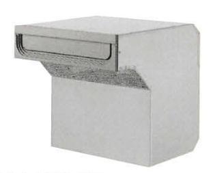 タマヤ TAMAYA 戸建用郵便ポスト T54-2B3/T54-2B6/T54-2B8 口金タイプ一体型 ダイヤル錠取付け可能(別オーダー)