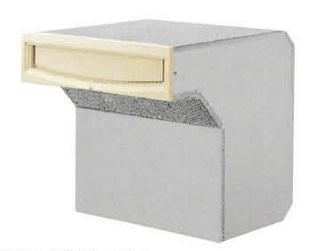 タマヤ TAMAYA 戸建用郵便ポスト T55-2B12/T55-2B15/T55-2B12D/T55-2B15D 口金タイプ一体型 ダイヤル錠取付け可能(別オーダー)