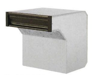 タマヤ TAMAYA 戸建用郵便ポスト T56-2B3/T56-2B6/T56-2B8 口金タイプ一体型 ダイヤル錠取付け可能(別オーダー)