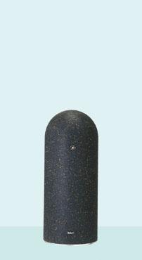 【帝金 Teikin】 リサイクルゴムチップ 脱着式カギ付 EPG-02CK ブラック