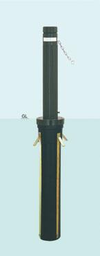 【帝金 Teikin】 バリカー上下式 AK-101C バリアフリー取替用支柱