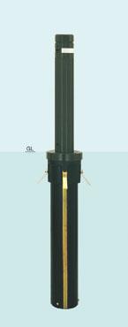 【帝金 Teikin】 バリカー上下式 AK-101CT バリアフリー取替用支柱