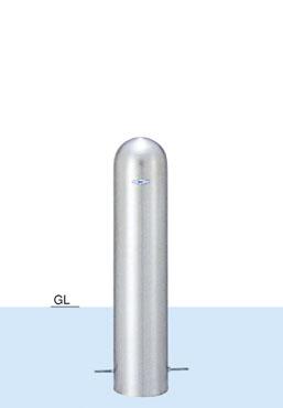 【帝金 Teikin】 バリカー ピラー型 S57A-075H フックナシ 固定式