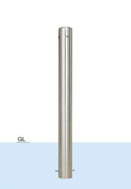 【帝金 Teikin】 バリカー ピラー型 S54A-CT スタンダード 固定式