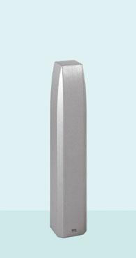 【帝金 Teikin】 バリカー ローボラード ACT-02A メタリックチタン 固定式
