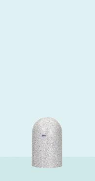 【帝金 Teikin】 バリカー ローボラード W58A-03 白御影石調 固定式