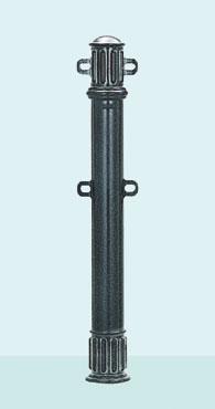 【帝金 Teikin】 バリカー デザインキャスト ACT-002PKW 脱着式カギ付