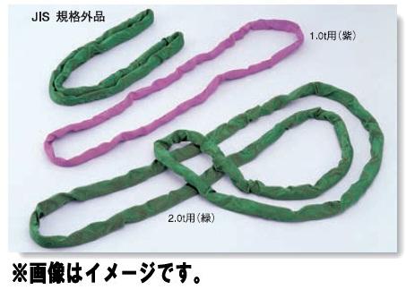 トーヨーセフティー エンドレススリング(ラウンドタイプ) 種類2.0t用(緑) 円周5.0m TOYO SAFETY