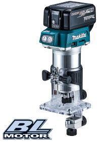 マキタ 充電式トリマ RT50DRG(6.0Ah) 18V バッテリ・充電器・ケース付