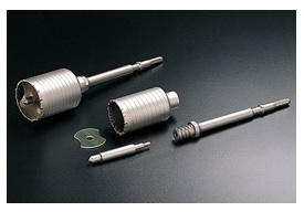 UNIKA ユニカ ハンマードリル用コアドリル HC-35 HCタイプ セット品