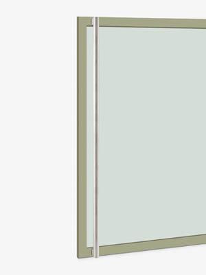 UNION ユニオン ドアハンドル T1205-01-023-A 内/外1セット