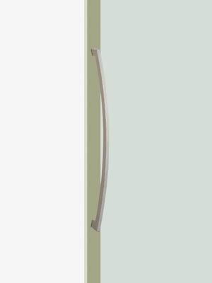 UNION ユニオン ドアハンドル ミドル T2413-01-023 内/外1セット