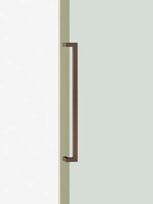 UNION ユニオン ドアハンドル ミドル T1550-25-047-L750 内/外1セット