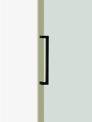 UNION ユニオン ドアハンドル ミドル T1550-25-101-L500 内/外1セット