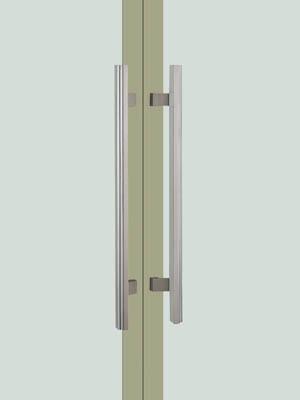 UNION ユニオン ドアハンドル ミドル T5787-01-024 内/外1セット