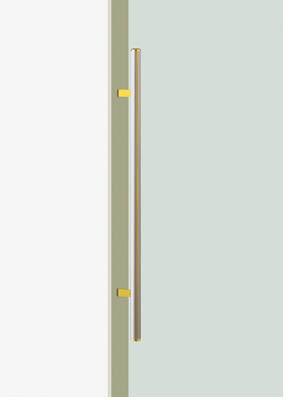 UNION ユニオン ドアハンドル ミドル T7190-29-039-L1000 内/外1セット