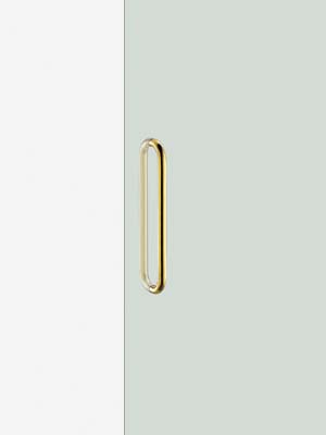 UNION ユニオン ドアハンドル ミドル G7053-15-001-L450 内/外1セット