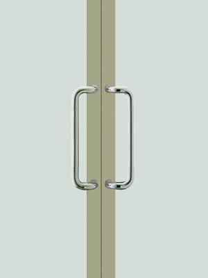UNION ユニオン ドアハンドル ミドル T810-01-001 内/外1セット