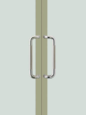 UNION ユニオン ドアハンドル ミドル T810-01-024 内/外1セット