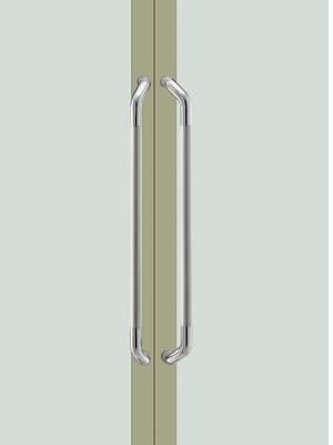 UNION ユニオン ドアハンドル ミドル T3008-01-024-L800 内/外1セット
