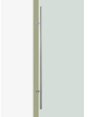 UNION ユニオン ドアハンドル ミドル T52-01-023-L1200 内/外1セット