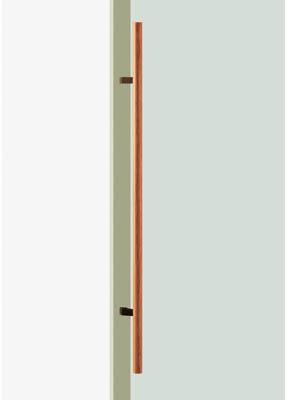 UNION ユニオン ドアハンドル ミドル T52-35-050-L1200 内/外1セット
