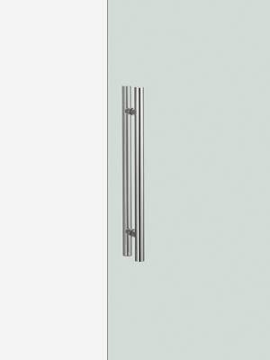 UNION ユニオン ドアハンドル ミドル G52-01-001-L600 内/外1セット