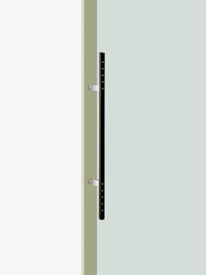 UNION ユニオン ドアハンドル ミドル T2017-26-108 内/外1セット